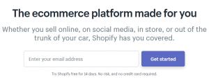 creating online shop