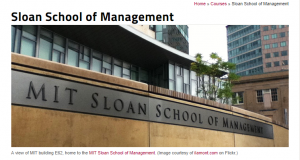 Educate yourself MIT Sloan School of Management