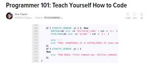 Programmer 101