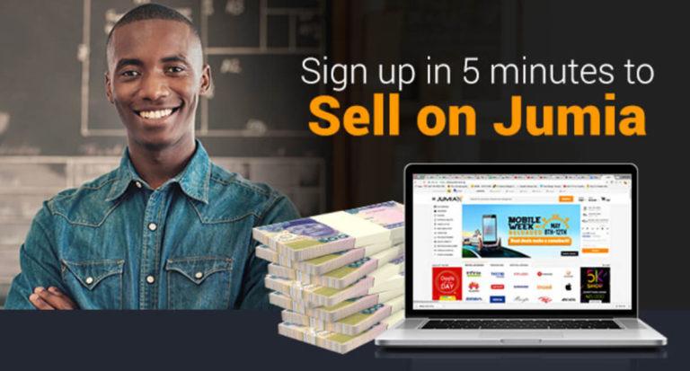 selling on Jumia