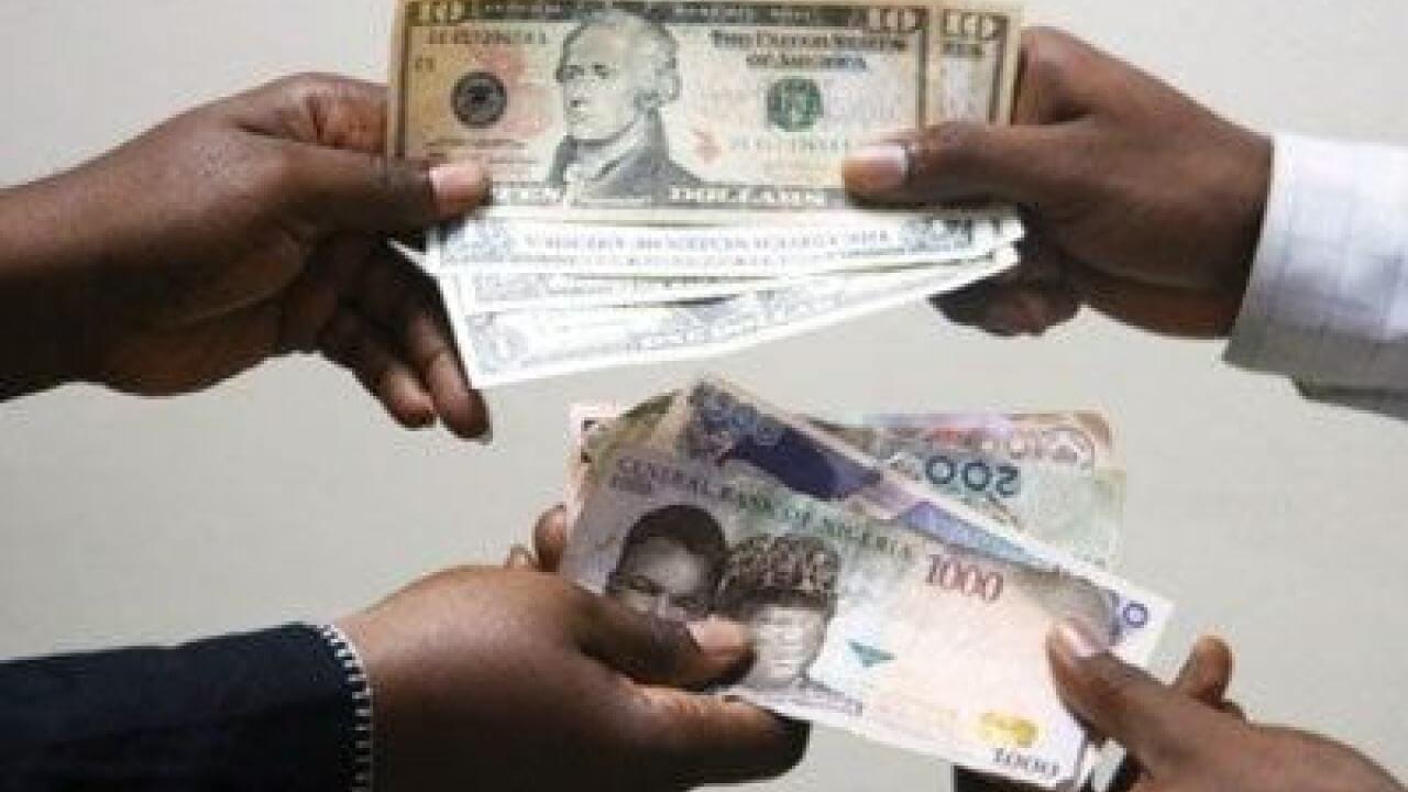 Dollar to Naira today