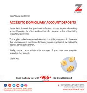 Zenith Bank Dorm